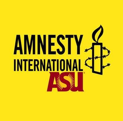 Amnesty International ASU logo