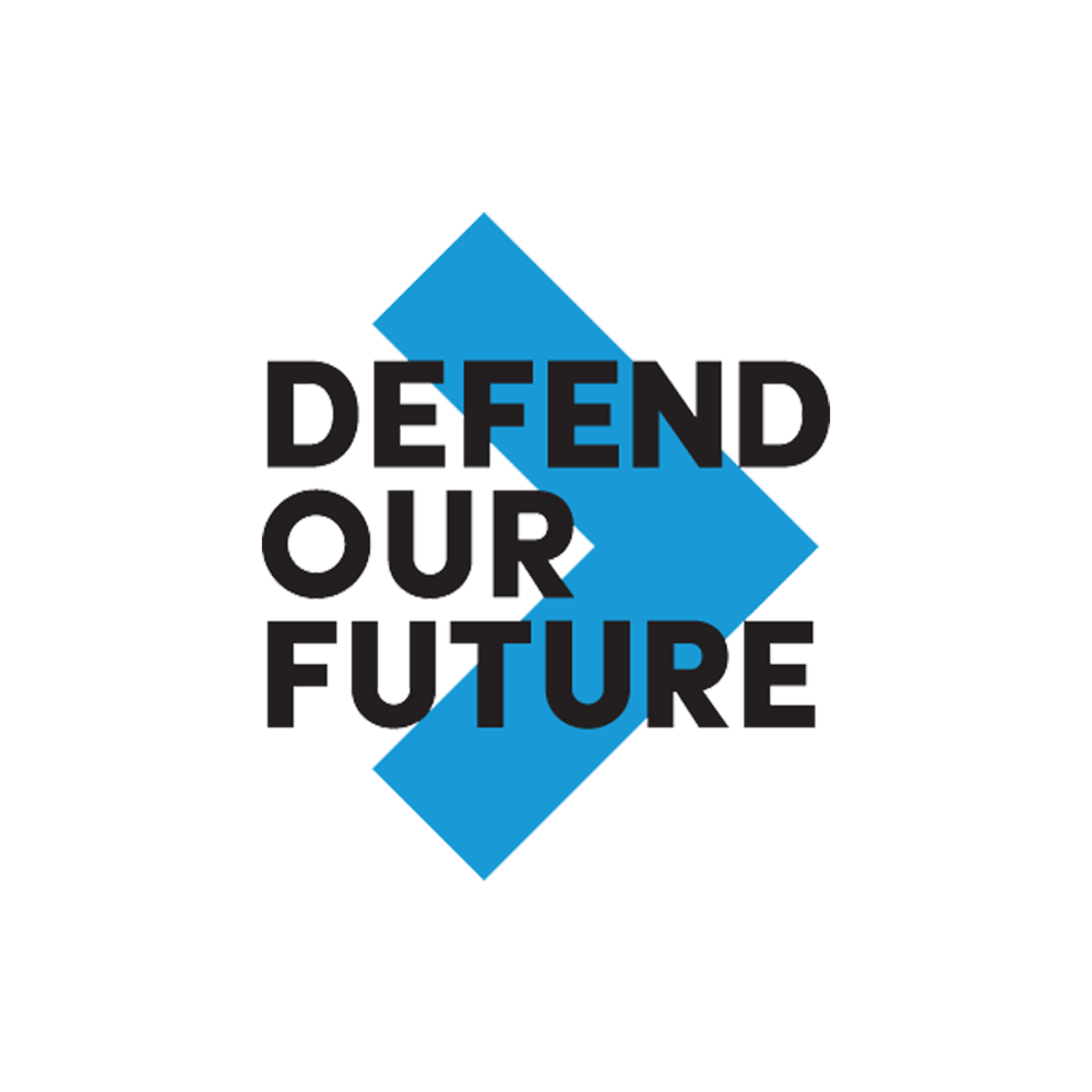 Defend our Future logo